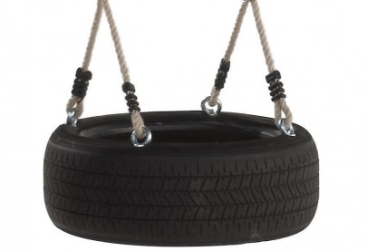 Tyre Swing & Ropes - Horizontal