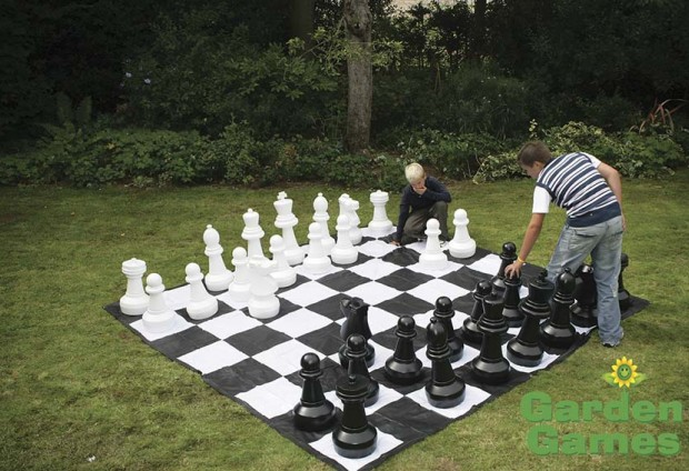 Giant Plastic Chess Pieces - 60cm Tall