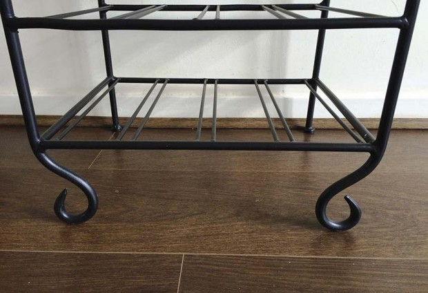 Solid Steel Wine Rack - Black