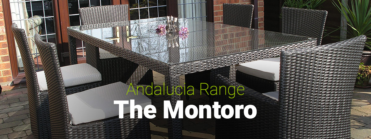 Featured - The Andalucia Range of Rattan Garden Furniture