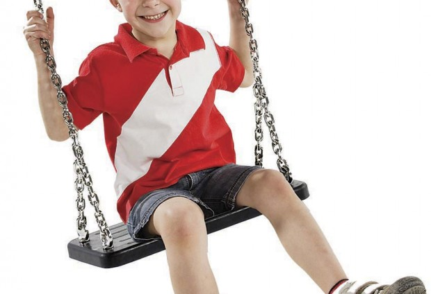 Rubber Swing Seat with Steel Chains